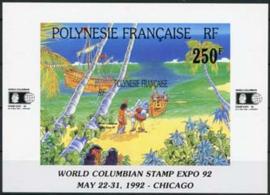 Polynesie, michel blok 20, xx