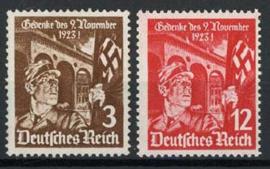 Duitse Rijk, michel 598/99, xx