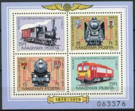 Hongarije, michel blok 139 A, xx