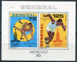 Senegal, michel blok 38, xx