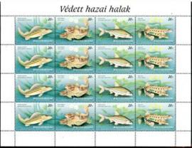 Hongarije, michel kb 4457/60, xx