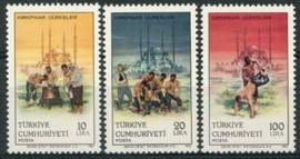Turkije, michel 2751/53, xx