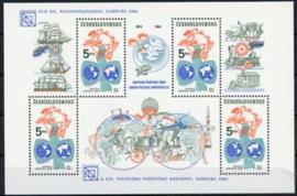 Tsjechoslowakije, michel blok 58, xx