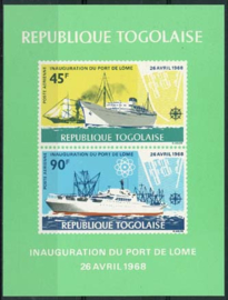 Togo, michel blok 33, xx