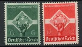 Duitse Rijk, michel 571/72, xx