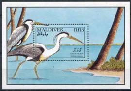 Maldives, michel blok 170, xx
