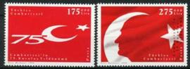 Turkije, michel 3159/60, xx