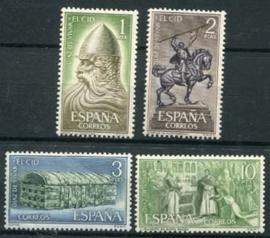 Spanje, michel 1334/37, xx