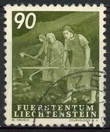 Liechtenstein, michel 299, o