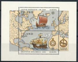 IJsland, michel blok 13, xx