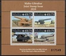 Malta , michel blok 45 , xx