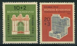 Bundespost, michel 171/72, xx