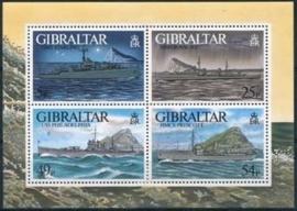 Gibraltar , michel blok 26 , xx