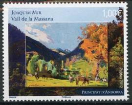 Andorra Fr., michel 741, xx