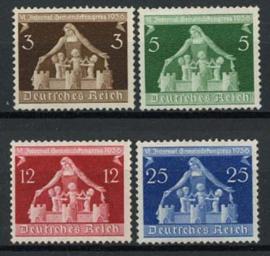 Duitse Rijk, michel 617/20, xx