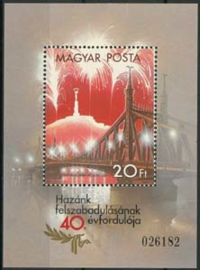 Hongarije, michel blok 177 A, xx