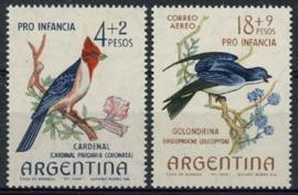 Argentinie, michel 854/55, xx