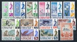 Gibraltar , michel 149/62 , xx