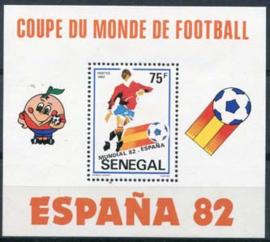 Senegal, michel blok 42/44, xx