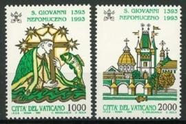 Vatikaan, michel 1097/98, xx