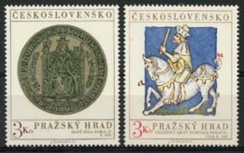 Tsjechoslowakije, michel 2141/42, xx