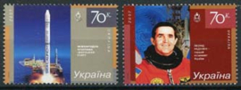 Ukraine, michel 854/55, xx