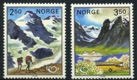 Noorwegen, michel 881/82, xx
