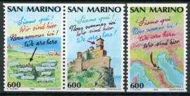 S.Marino, michel 1435/37 C, xx