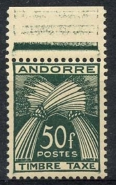 Andorra Fr., michel p 40 , xx