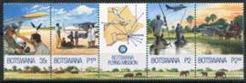 Botswana, michel 706/09 strip, xx