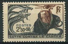 Frankrijk, michel 507, xx