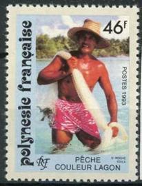Polynesie, michel 626, xx
