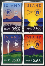 IJsland, michel 820/23, o