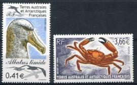 Antarctica Fr., michel 480/81, xx