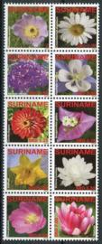 Suriname Rep., michel 2345/54, xx