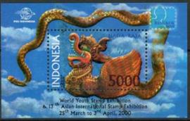 Indonesie, zbl. blok 178, xx