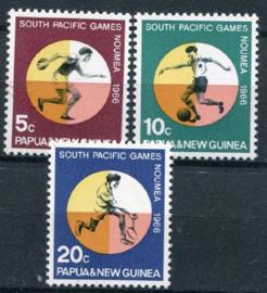 Papua n. Guinea, michel 99/101, xx