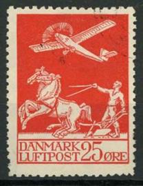 Denemarken, michel 145, o