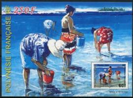 Polynesie, michel blok 30, xx
