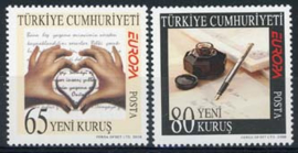 Turkije, michel 3663/64, xx