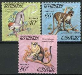 Gabon, michel 526/28, xx
