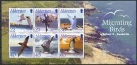 Alderney , michel blok 14 , xx