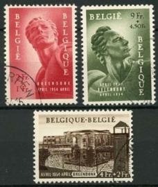 Belgie, obp 943/45 , o