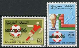 Marokko, michel 1092/93, xx