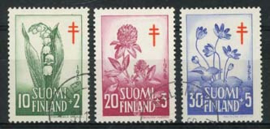 Finland, michel 493/95, o
