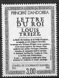 Andorra Fr., michel 336, xx