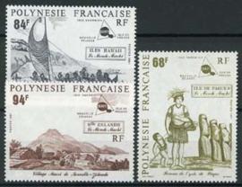 Polynesie, michel 579/81, xx