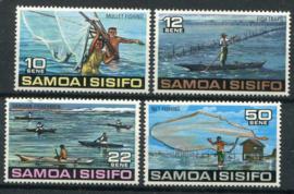 Samoa, michel 333/36, xx
