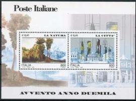 Italie, michel blok 23, xx