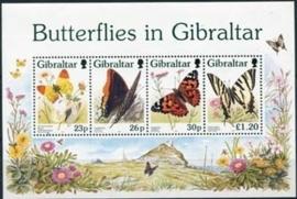 Gibraltar , michel blok 28 , xx